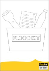 Colouring in Flood Kit